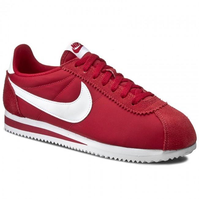 brand new 7018d ceceb Shoes NIKE - Classic Cortez Nylon 807472 611 Gym RedWhite