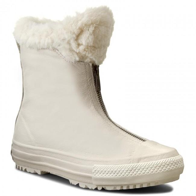 902cea6928c8 Boots CONVERSE - Ctas Boot Shroud Leather+Fur X 553351C Parchment ...