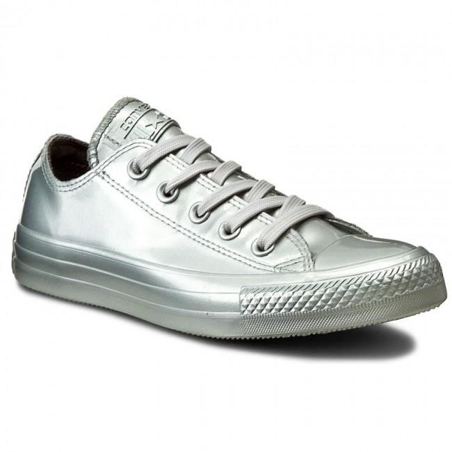 Ox Pure Rubber Sneakers 553272c Metallic Converse Ctas Silverpure w6qnx7HPI