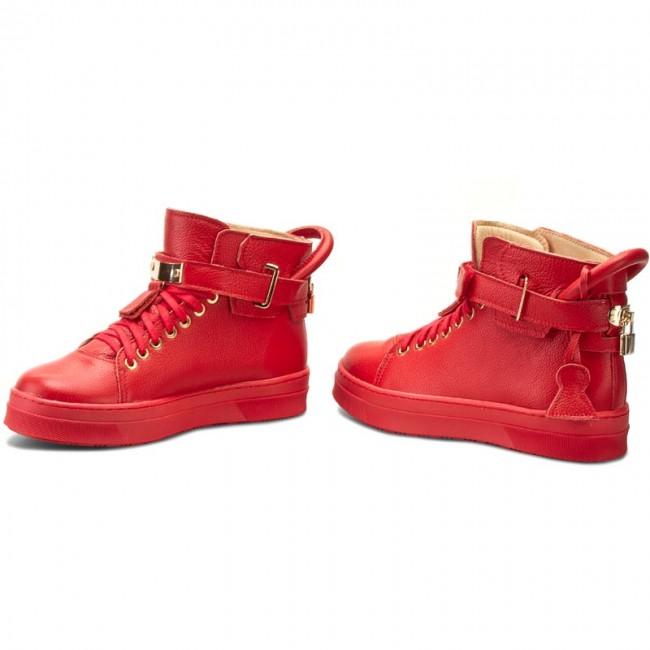 Sneakers R.POLAŃSKI - 0837 Czerwony Lico dw91V2QKY