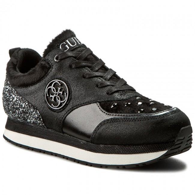 304936939509c Bardzo Sneakers GUESS - Rimma FLRIM4 FAM12 BLACK - Flats - Low shoes FE-78