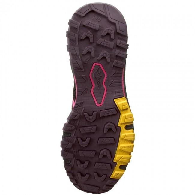 19f900b22a08 Shoes ASICS - GEL-FujiAttack 5 G-Tx T681N Eggplant Sport Pink Lemon 3319 -  Outdoor - Running shoes - Sports shoes - Women s shoes - www.efootwear.eu