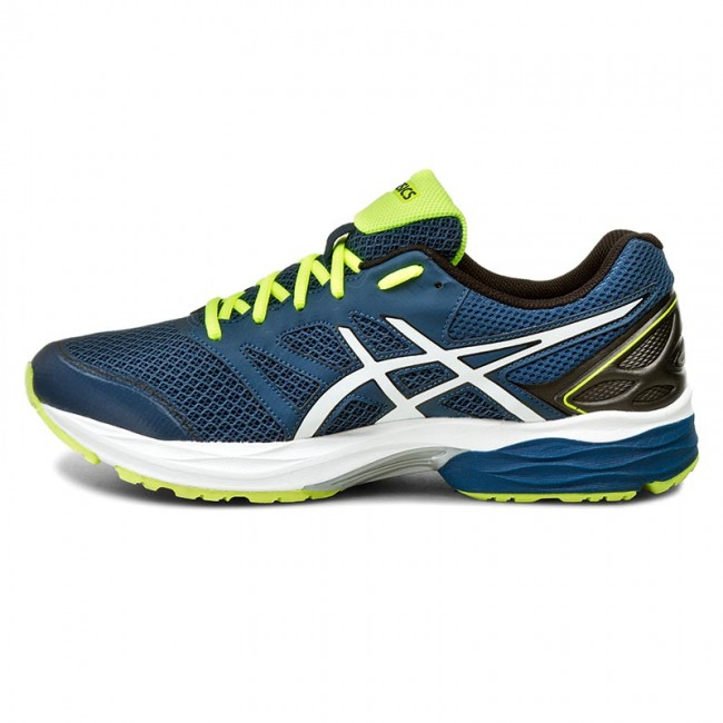 Shoes ASICS - Gel-Pulse 8 T6E1N Poseidon/White/Safety Yellow 5801