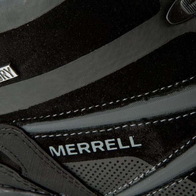 Trekker Boots MERRELL - Capra Bolt Leather Mid Wp J35803 Black ... 158914875a