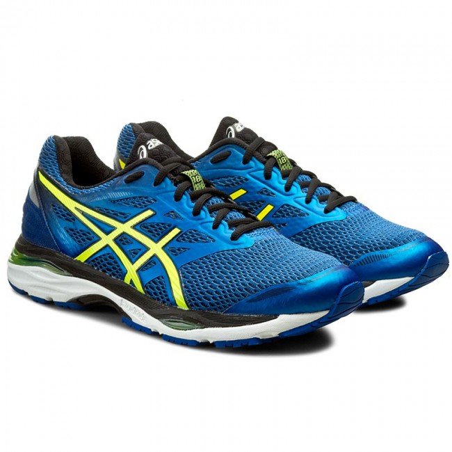 d159f3c6ee3e40 Shoes ASICS - Gel-Cumulus 18 T6C3N Imperial Safety Yellow Black 4507 ...