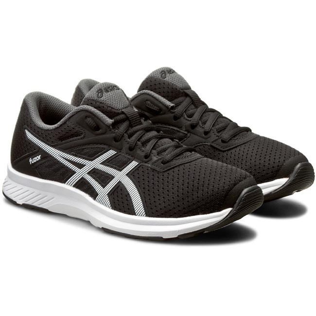 newest de092 25c5f Shoes ASICS. Fuzor T6H9N Black White Dark Steel 9001