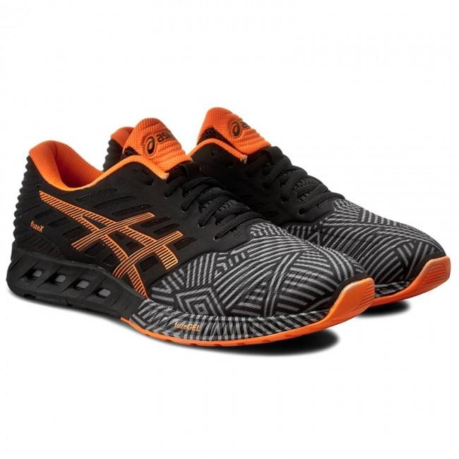 d5cd5c8adead Shoes ASICS - FuzeX T6K3N Aluminum Hot Orange Black 9630 - Indoor - Running  shoes - Sports shoes - Men s shoes - www.efootwear.eu