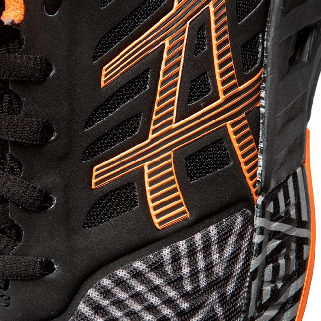 dfbce3f674a1 Shoes ASICS - FuzeX T6K3N Aluminum Hot Orange Black 9630 - Indoor ...