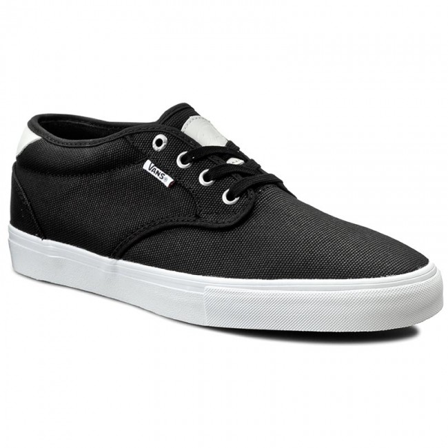 Vans Chima Estate Pro sample Waxed Canvas Black White