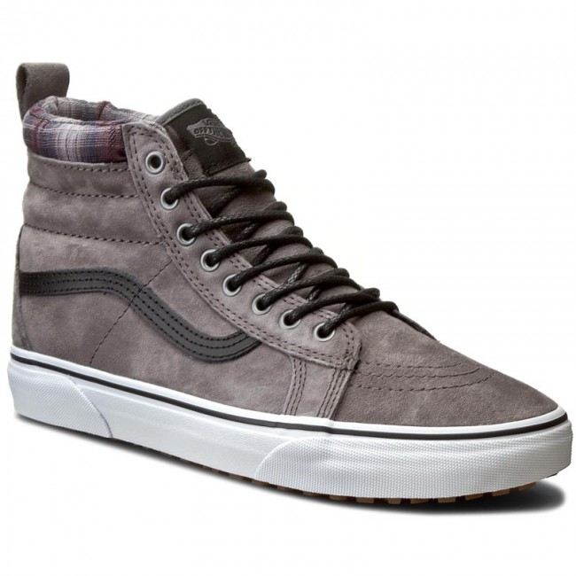 VANS U Sk8 Hi Mte Pewter Plaid Grey VN000XH4JTG