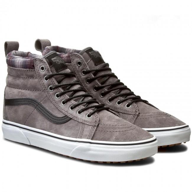 53a927d4978bd6 Sneakers VANS - Sk8-Hi Mte VN000XH4JTG (Mte) Pewter Plaid - Casual - Low  shoes - Men s shoes - www.efootwear.eu