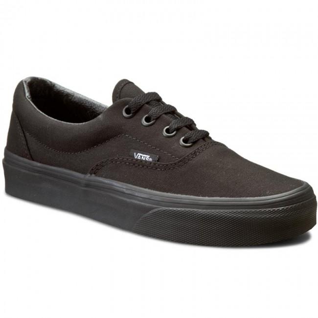 5add47eb4d Plimsolls VANS - Era VN000QFKBKA Black Black - Sneakers - Low shoes ...