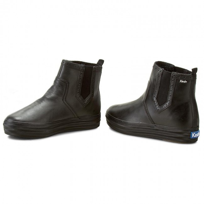 Keds Blkblk Boots Chelsea Wh54245 Triple High Ankle 35A4LRqj