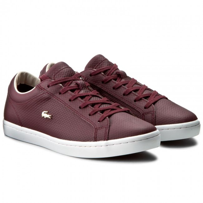 lacoste shoes burgundy - 58% OFF - ser
