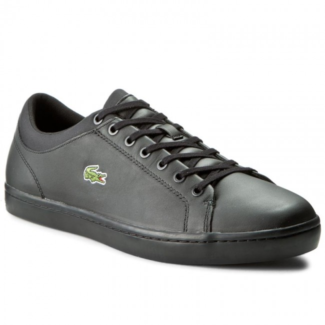 Sneakers LACOSTE - Straightset Spt 316 1 7-32SPM0038024 Blk - Casual ... 90462cd9c7