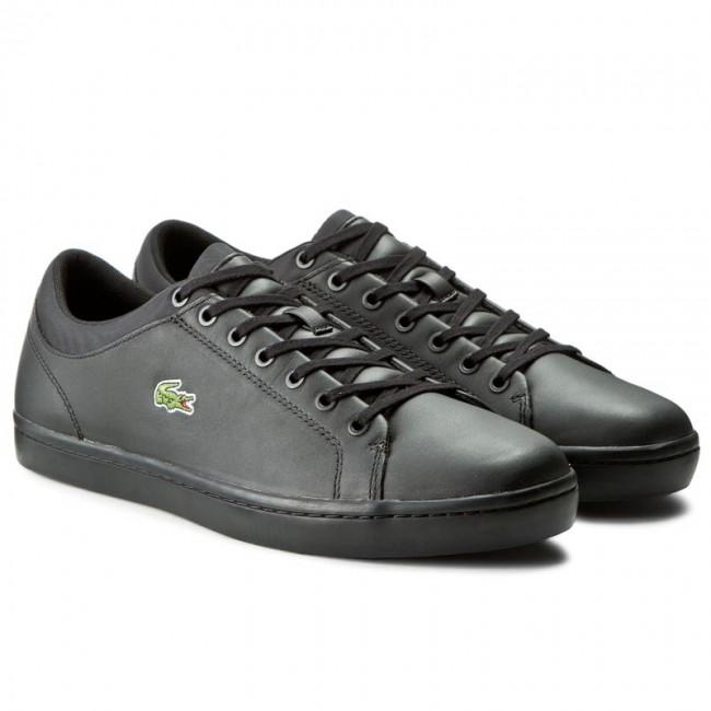 Sneakers LACOSTE - Straightset Spt 316 1 7-32SPM0038024 Blk - Casual - Low  shoes - Men s shoes - www.efootwear.eu dc21ee80e6