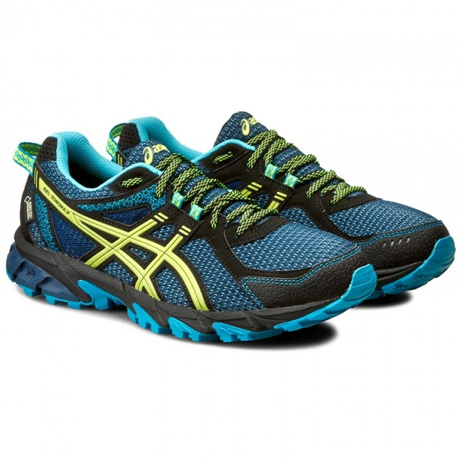 Shoes ASICS - Gel-Sonoma 2 G-Tx T638N Poseidon/Safety Yellow/