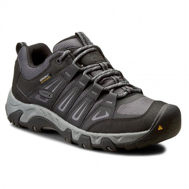 Keen OAKRIDGE WP - Walking shoes - magnet/gargoyle OI2oFrFw