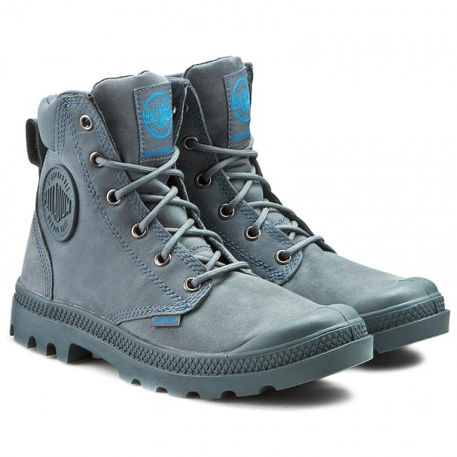 Hiking Boots PALLADIUM - Pampa Cuff Wp Lux 73231-452-M Nordic Blue -  Trekker boots - High boots and others - Women s shoes - www.efootwear.eu 2e671e6998d