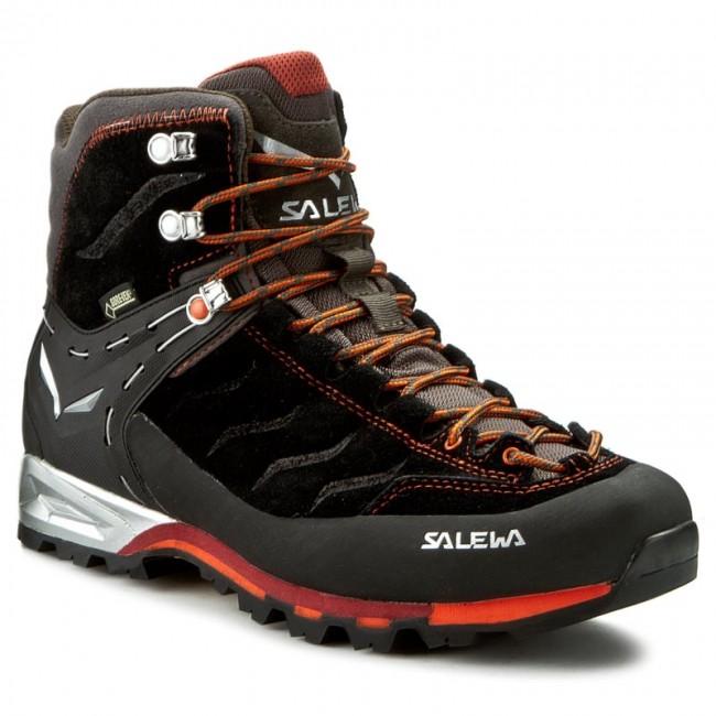 Men's SALEWA Mountain Trainer Mid GTX Boots (Black/Indio) - GM18