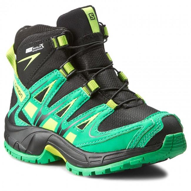9ca3a8f0354e Trekker Boots SALOMON - Xa Pro 3D Mid Cswp K 378430 04 M0 Black Real ...