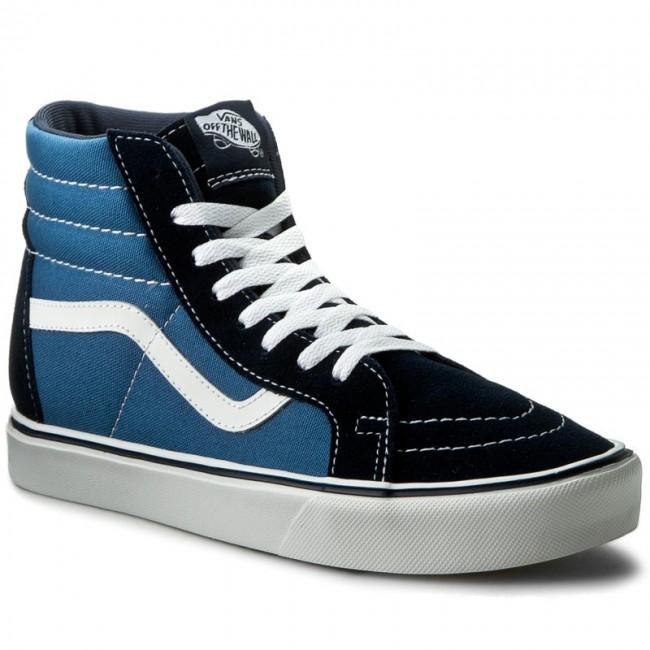 a1f1eea924328b Sneakers VANS - Sk8-Hi Lite + VN0004PAIVF (Suede Canvas) Navy White ...