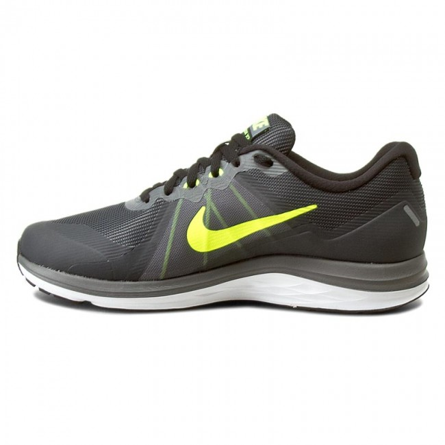 reputable site 97ace 1cb69 Shoes NIKE - Nike Dual Fusion X 2 819316 008 Dark Grey Volt Black White -  Indoor - Running shoes - Sports shoes - Men s shoes - www.efootwear.eu