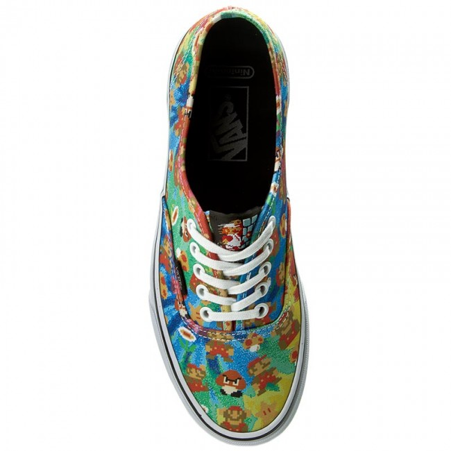 Plimsolls VANS - Authentic VN0004MLJPA (Nintendo) Super Mario Bros -  Sneakers - Low shoes - Women s shoes - www.efootwear.eu 593fdf2c23