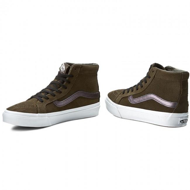Sneakers VANS Sk8 Hi Slim Cutout VN004KZJRG (Perf Suede) TarmacTrue