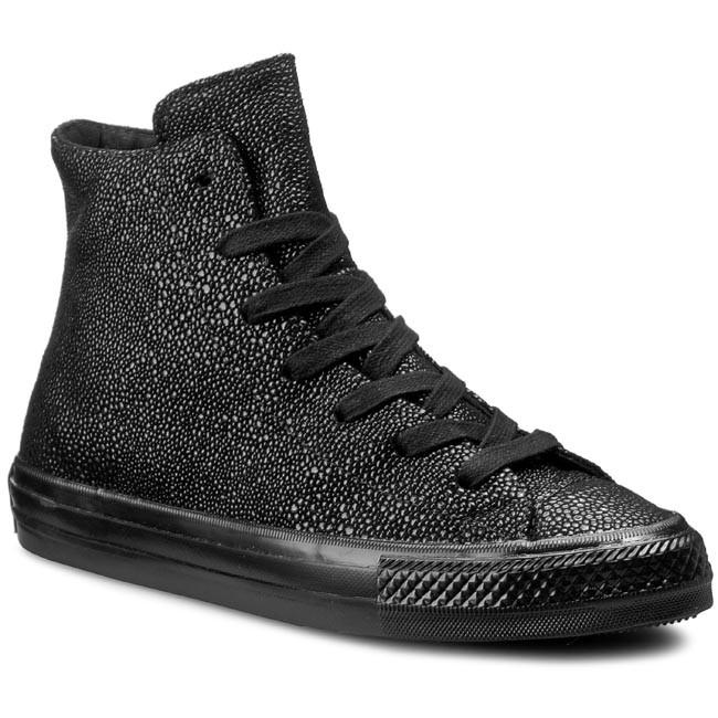 ecb120661bed Sneakers CONVERSE - Ctas Gemma Hi 553444C Black Black Black ...