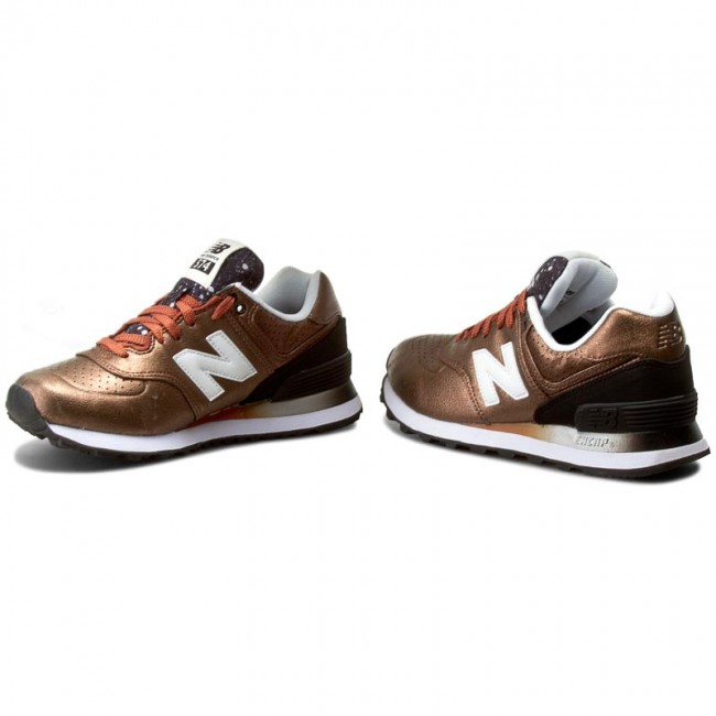 Sneakers NEW BALANCE - WL574RAB Brown Gold