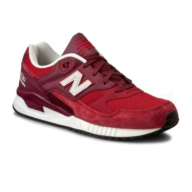 Sneakers NEW BALANCE - M530OXB Dark Red Red - Sneakers - Low shoes ... 1736133cf80