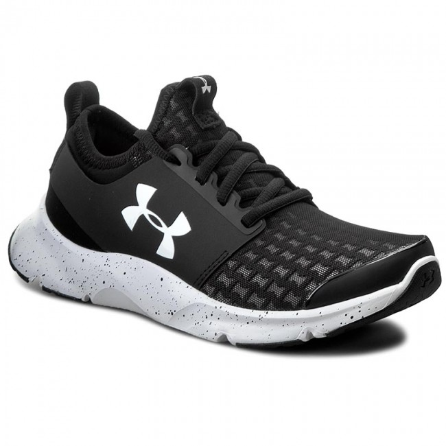 under armour basketball shoes womens. shoes under armour - ua w drift rn 1274073-003 blk/wht/wht under armour basketball womens n