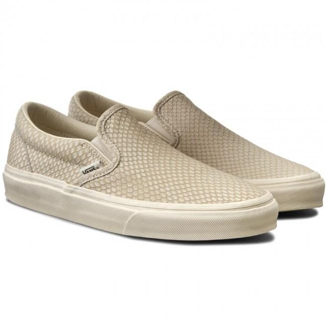 Vans Slip on Sneakers Snake skin pattern
