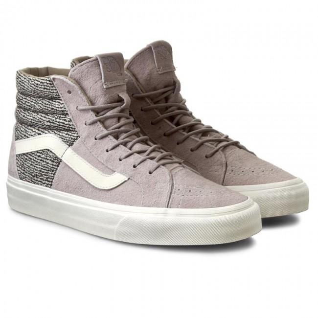 Sneakers VANS Sk8 Hi 46 + VN0004O8IEX (Italian WeavePig Suede) Ash