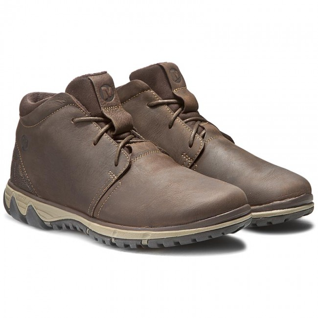 Merrell Mens All out Blazer Chukka North Leather Ankle BOOTS