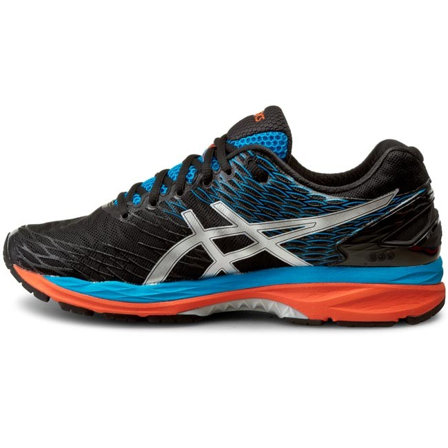 Shoes ASICS Gel Nimbus 18 T600N OnyxSilverBlue Jewel 9993
