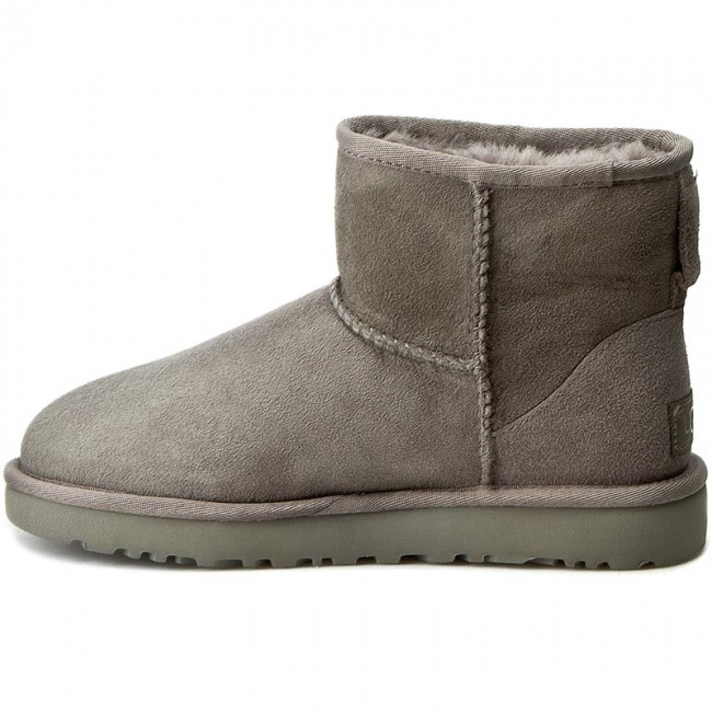 Schuhe UGG - W Classic Mini II 1016222 W/Grey Uv0dZtXX