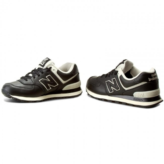 Sneakers NEW BALANCE - ML574LUC Black - Sneakers - Low shoes - Men s ... 928ba44c17