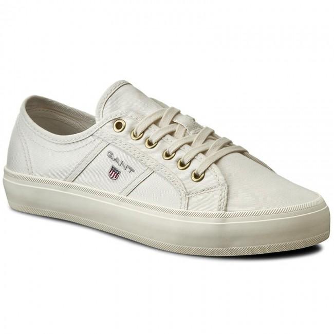 Plimsolls GANT - Zoe 14538641 White G29 - Sneakers - Low shoes ... 2ce31f7fb7d
