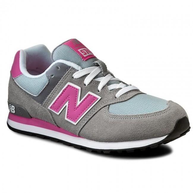 sneakersy new balance kl574cdg szary