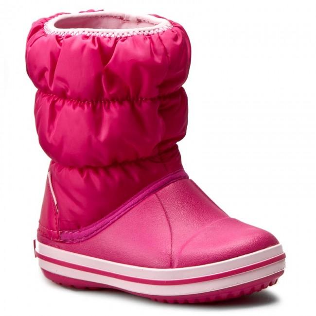 a30f70f759e20e Snow Boots CROCS - Winter Puff Boot Kids 14613 Candy Pink - Trekker ...
