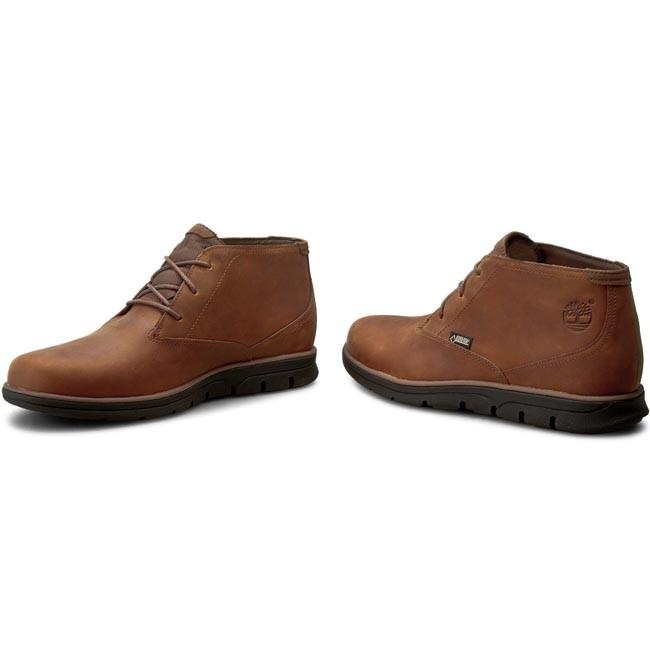 TIMBERLAND Casual Boots A155W Boots Ch Medium Brown Bradstreet vwxdRE8