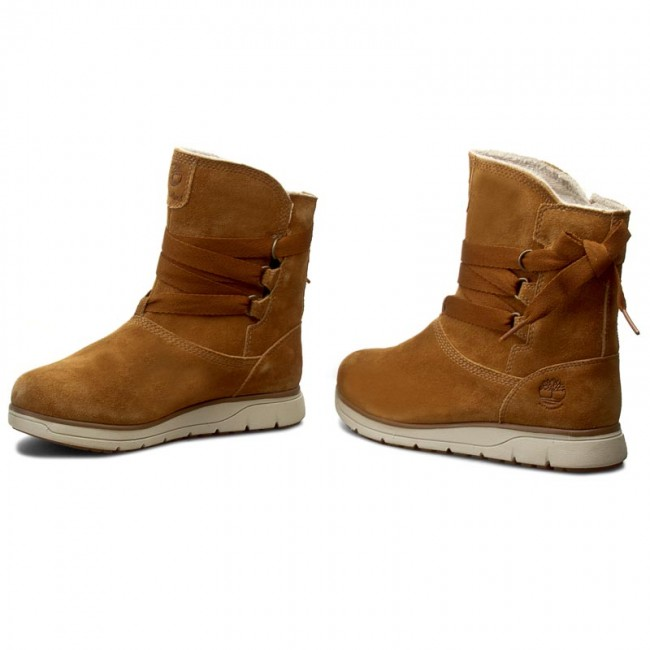 Boots TIMBERLAND - Leighland Pull On A17MW Wp Trapper Tan - Boots ... 30e0f651ca04