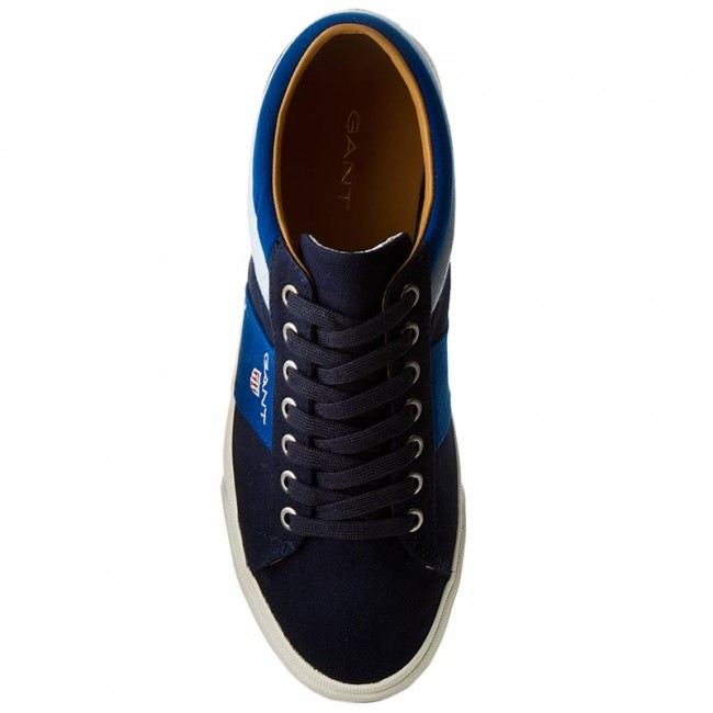 Plimsolls GANT - Hero 14638611 Marine Yale Blue G696 - Plimsolls - Low  shoes - Men s shoes - www.efootwear.eu 2466e51e9a6