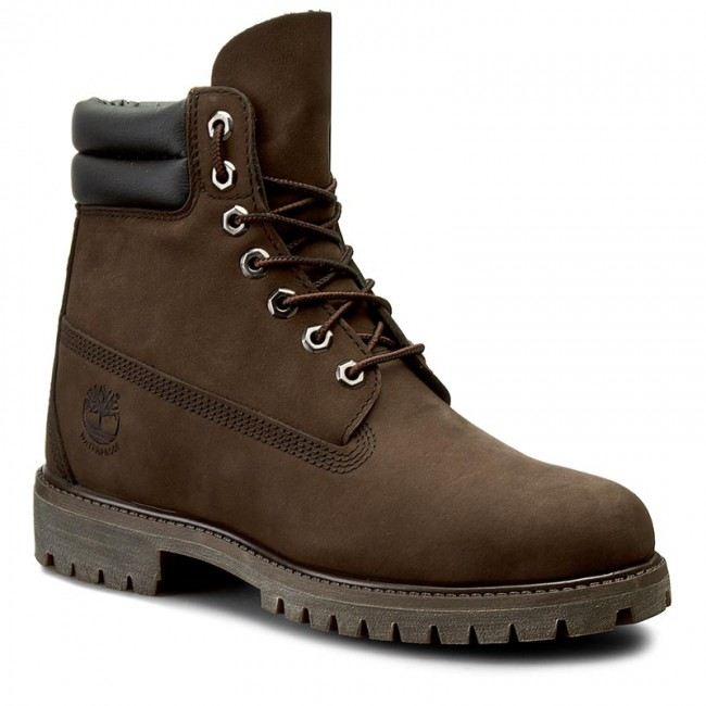 10ebcb8051f Hiking Boots TIMBERLAND - 6 In Boot 73543 Dk Brown N Brow - Trekker ...