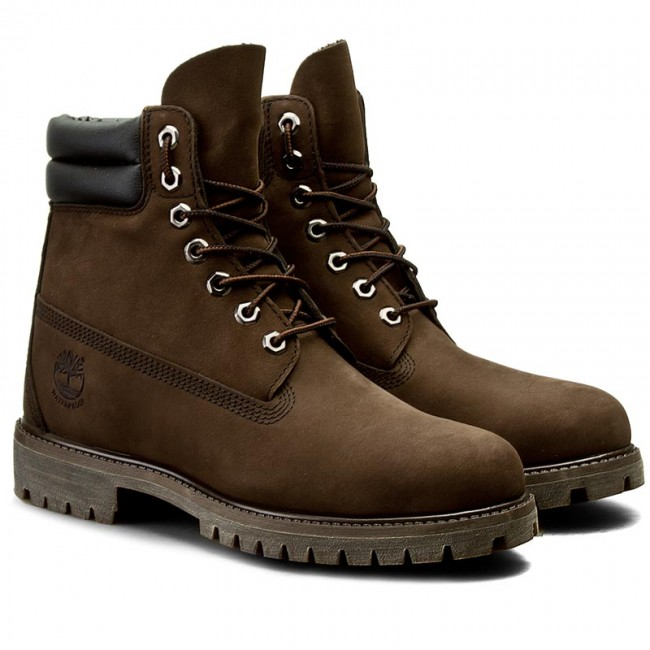 8243402f00f Hiking Boots TIMBERLAND - 6 In Boot 73543 Dk Brown N Brow - Trekker boots -  High boots and others - Men's shoes - www.efootwear.eu