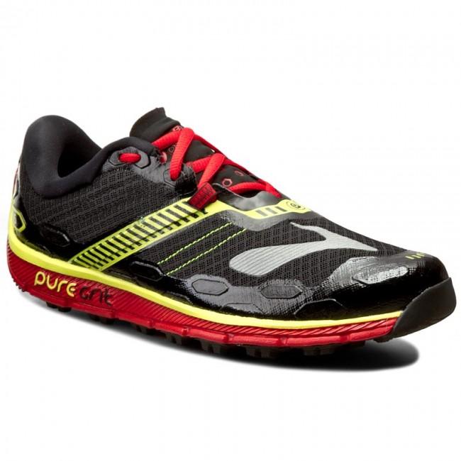 4e9a28534c2 Shoes BROOKS - PureGrit 5 110239 1D 070 Black High Risk Red ...