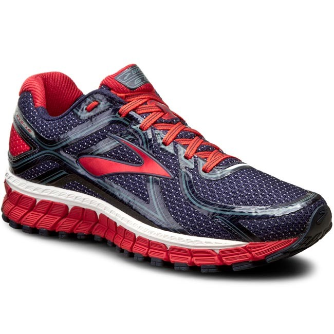 Shoes BROOKS - Brooks Adrenaline GTS 16 110212 1D 477 Peacoat/High Risk Red/