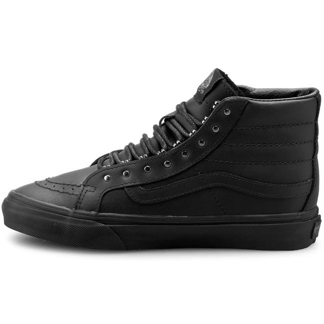 Sneakers VANS Sk8 Hi Slim VN00018IJV1 (Rivets) GunmetalBlack